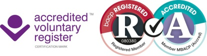BACP accredited voluntary register logo