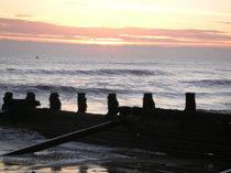 Dawn on the East Coast of UK